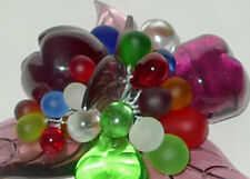 Lucious Murano Glass Fruit Sculpture Grapes Bunch/Cluster Pears Other