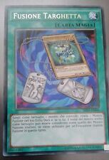 FUSIONE TARGHETTA SHVI-IT066/MP17  RARA MINT YUGIOH VITTORIE BRILLANTI