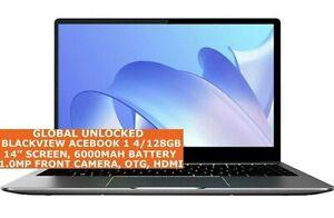 BLACKVIEW ACEBOOK 1 4gb 128gb Quad Core 14 Inch Bluetooth Wi-Fi Win 10 Laptop