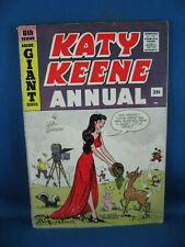 KATY KEENE ANNUAL 6 VG F 1959 ARCHIE COMICS