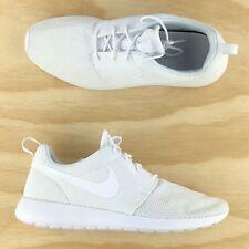 Nike Roshe Run One Triple White Running Casual Shoes 511881-112 Size 10