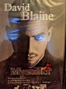 David Blaine Mystifier new DVD