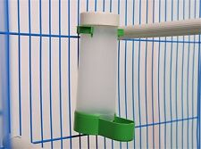 Bird Seed & Water Feeder Easy Fill Birdfeeder Accessory For House Cage
