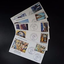 POLYNESIA FRENCH POST AERIAL PA N°55/59 ON LETTER COVER 1st DAY FDC