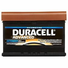 Type 075 540CCA Sealed OEM Replacement Duracell Advanced Car Battery To Fit BMW