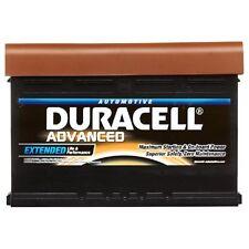 Tipo 075 540CCA Sellado OEM reemplazo de la batería de Duracell coche avanzada 12V 62Ah