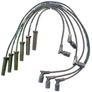 OE Replacement Ignition Wire Set   DENSO   671-6070