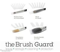 The Brush Guard Make-Up Brush Protectors/Sleeves - Choose from 4 pack options