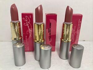 Lot of 3 Mary Kay Paradise Pink Signature Creme Lipstick .13 Oz. #532000 NIB NEW