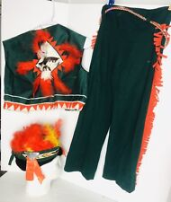Vintage Child 6 Indian Headdress  Costume Cowboys Indians Western Play Dress Up