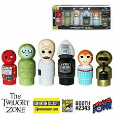 New The Twilight Zone Pin Mate Set of 6 Wooden Figures EE Low Limited Edition #s