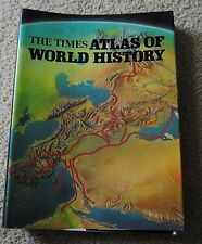 The Times Atlas of World History Hammond Table Book Pictoral Maps1979 0843711256