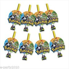 POKEMON Diamond and Pearl BLOWOUTS (8) ~ Birthday Party Supplies Favors Torterra