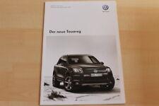 74473) VW Touareg 7P - Technik & Preise & Extras - Prospekt 02/2010