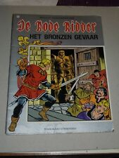 1e druk in kleur de rode ridder nr 98 : het bronzen gevaar ( 1985 )