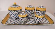 porcelaine de Sèvres, petit service de pots couverts