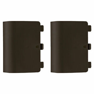 Battery back cover for Xbox One controller shell holder - 2 pack brown   ZedLabz