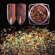 Chameleon Holo Flakes Holographisches Laser Powder Nail Glitters BORN PRETTY #1