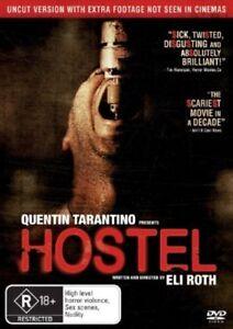 Hostel DVD New/Sealed Region 4