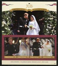 ANTIGUA 2018 THE ROYAL WEDDING OF HARRY &  MEGHAN  SHEET MINT NH
