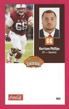 HARRISON PHILLIPS 2018 REESE'S SENIOR BOWL RC STANFORD CARDINALS ROOKIE CARD