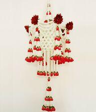 Flower Chandelier, Flower Hanging Mobile, Artificial Flower Garland, Floral Art
