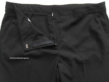 New Girls Marks & Spencer Black School Trousers Age 15 Years Waist 32