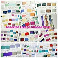 Rainbow Gallery Assorted Lots Floss Needlepoint Cross Stitch Thread Long Stitch