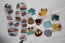 Disney pin trading Starter Set Lanyard + 10 pin lot  NEW Tow Mater CARS Lanyard