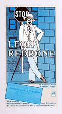 Leon Redbone John Van Duzer Theatre Humboldt State Ca 1982 Oct 20 Poster Laursen