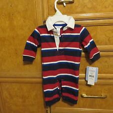 infant Boys Chaps Ralph Lauren one piece outfit  size 3M NWT $29.99