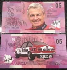 Peter Brock Torana 05 - Commemorative Five Dollar note -- Not Legal Tender ---