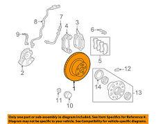 MERCEDES OEM 12-15 C63 AMG Front Brake-Disc Rotor 2124210512