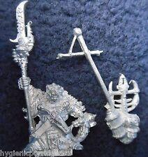1993 Skaven 74466 / 1 IKit Claw Chief WARLOCK caos ratmen Citadel comando Lord GW