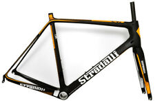 57CM L LARGE STRADALLI RS ORANGE CARBON ROAD BIKE CYCLING BICYCLE FRAME PF30