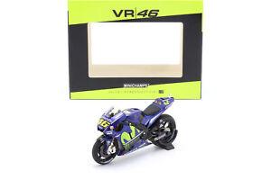 Valentino Rosso Yamaha YZR-M1 #46 MotoGP 2017 1:18 Minichamps