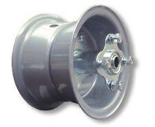 "Mini Bike GO KART GREY 6"" Split Rim Steel Wheel BEARINGS SPROCKET Hub Hardware"