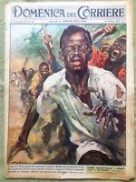 La Domenica del Corriere 26 Febbraio 1961 Lumumba Congo Suppa Monti Satellite