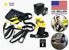Suspension Straps Trainer Hanging Belt Resistance Pull Rope Home Gym Workout Set