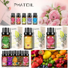 PHATOIL Essential Oils Aromatherapy Natural Oil Organic Aroma Diffuser Burner G