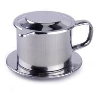 Useful Press Gravity Insert Infuser Vietnamese Coffee Filter Maker Vietnam Phin