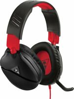 Turtle Beach Recon 70 Red Black Wired Gaming Headset Nintendo Switch PS4 RETURN