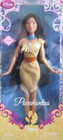 "Disney Store Pocahontas Doll 12"" Tall Disney Princess Collection"