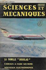 SCIENCES ET MECANIQUES N° 270 1968 / AVIATION : LA FAMILLE DOUGLAS