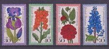 GERMANY MNH STAMP DEUTSCHE BUNDESPOST BERLIN 1976 GARDEN FLOWERS  SG B508 - 11