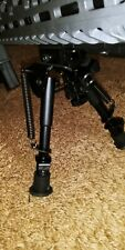 Pinty 6-9 inch Rifle Bipod Adjustable and with Spring Return
