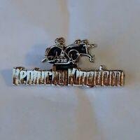 Kentucky Kingdom Lapel Hat Pin Louisville Amusement Park Souvenir Silver Color