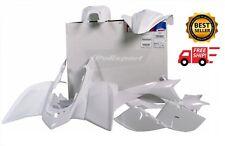 YAMAHA YFZ450 YFZ 450 2004-2008 WHITE PLASTIC KIT POLISPORT 90073 **NEW**
