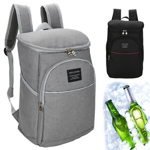 20L Waterproof Insulated Cooling Backpack Picnic Camping Rucksack Ice Cooler