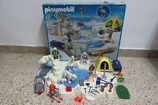 Playmobil - Expedicion Polar - Dinosaurio Hielo Oso Tienda - 3184 - COMPLETO OVP